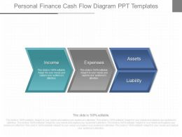 Download Personal Finance Cash Flow Diagram Ppt Templates