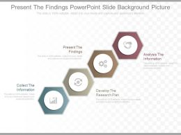 Download Present The Findings Powerpoint Slide Background Picture