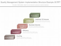 Download Quality Management System Implementation Structure Example Of Ppt
