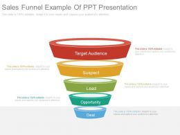 Download Sales Funnel Example Of Ppt Presentation