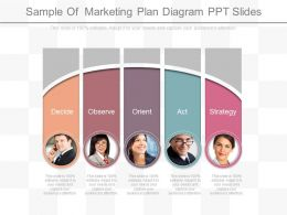 Download Sample Of Marketing Plan Diagram Ppt Slides