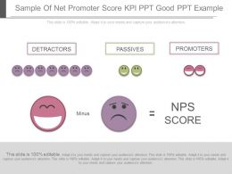 Download Sample Of Net Promoter Score Kpi Ppt Good Ppt Example