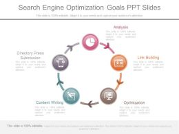 Download Search Engine Optimization Goals Ppt Slides