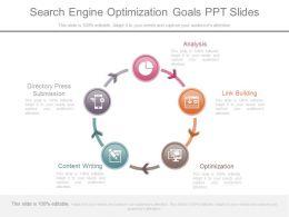 Download Search Engine Optimization Goals Ppt Slides