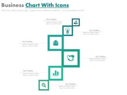 download Sequential Business Chart With Icons Flat Powerpoint Design
