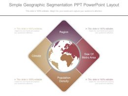 Download Simple Geographic Segmentation Ppt Powerpoint Layout