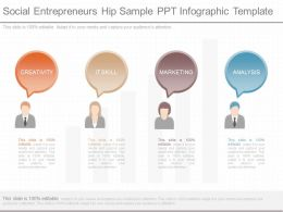 Download Social Entrepreneurs Hip Sample Ppt Infographic Template
