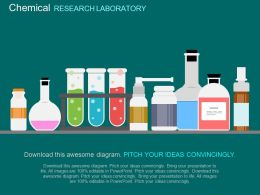 download Test Tubes Chemical Chemistry Lab Flat Powerpoint Design