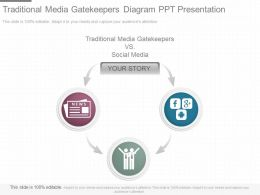 Download Traditional Media Gatekeepers Diagram Ppt Presentation