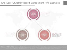 Download Two Types Of Activity Based Management Ppt Examples