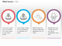 download_upload_manager_site_map_ecommerce_solutions_ppt_icons_graphics_Slide01