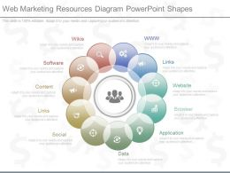 Download Web Marketing Resources Diagram Powerpoint Shapes