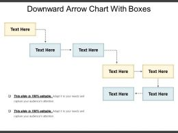 Downward Arrow Chart With Boxes