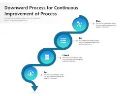 Downward Process For Continuous Improvement Of Process
