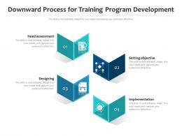 Downward Process For Training Program Development