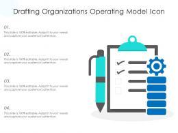 Drafting Organizations Operating Model Icon