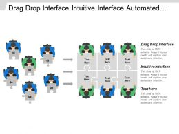 Drag Drop Interface Intuitive Interface Automated Notification Enterprise Architecture