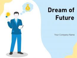 Dream Of Future Businessman Goals Ladder Entrepreneur Financial