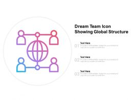 Dream Team Icon Showing Global Structure