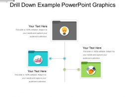Drill Down Example Powerpoint Graphics