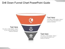 Drill Down Funnel Chart Powerpoint Guide