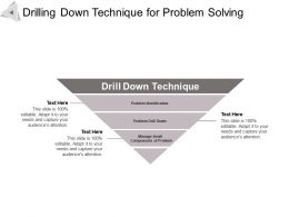Drilling Down Technique For Problem Solving