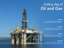 Drilling Rig Of Oil And Gas