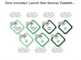 Drive Innovation Launch New Services Establish High Switching Costs