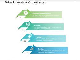 Drive Innovation Organization Ppt Powerpoint Presentation Inspiration Designs Cpb
