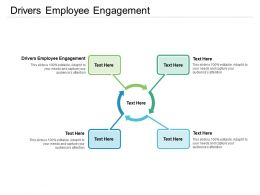 Drivers Employee Engagement Ppt Powerpoint Presentation File Microsoft Cpb