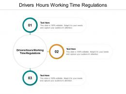 Drivers Hours Working Time Regulations Ppt Powerpoint Presentation Model Example Introduction Cpb