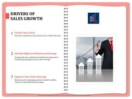 Drivers Of Sales Growth Unbeatable Sales Powerpoint Presentation Show