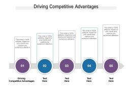 Driving Competitive Advantages Ppt Powerpoint Presentation Show Graphics Design Cpb