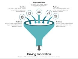 Driving Innovation Ppt Powerpoint Presentation Styles Graphics Design Cpb