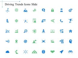 Driving Trends Icons Slide Growth K3 Ppt Powerpoint Presentation Visual Aids