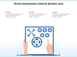 Drone Instrument Control System Icon
