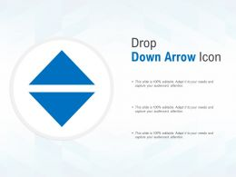 Drop Down Arrow Icon