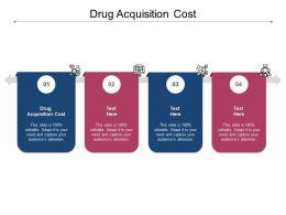Drug Acquisition Cost Ppt Powerpoint Presentation Portfolio Introduction Cpb