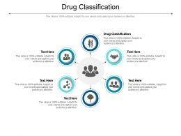 Drug Classification Ppt Powerpoint Presentation Inspiration Diagrams Cpb