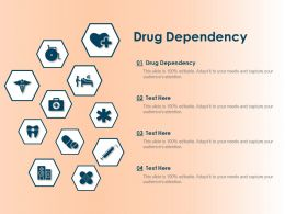 Drug Dependency Ppt Powerpoint Presentation Icon Demonstration