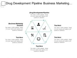Drug Development Pipeline Business Marketing Solution Marketing Analytics Cpb