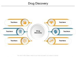 Drug Discovery Ppt Powerpoint Presentation Inspiration Elements Cpb