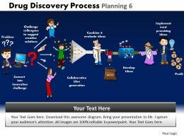 Drug Discovery Process Planning 6 Powerpoint Slides And Ppt Templates DB