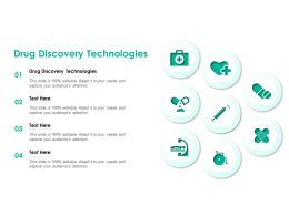 Drug Discovery Technologies Ppt Powerpoint Presentation File Example File