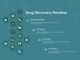 Drug Discovery Timeline Ppt Powerpoint Presentation Inspiration Gridlines