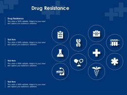 Drug Resistance Ppt Powerpoint Presentation Portfolio Templates