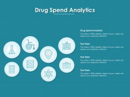 Drug Spend Analytics Ppt Powerpoint Presentation Example File