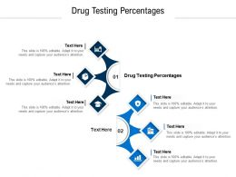 Drug Testing Percentages Ppt Powerpoint Presentation Infographic Template Picture Cpb