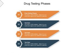 Drug Testing Phases Ppt Powerpoint Presentation Ideas Microsoft Cpb