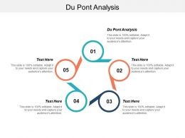 Du Pont Analysis Ppt Powerpoint Presentation Infographic Template Deck Cpb